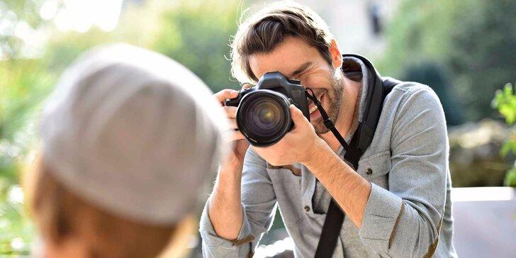 Tvořte dokonalé fotky: skupinový či individuální fotokurz ovládání zrcadlovky