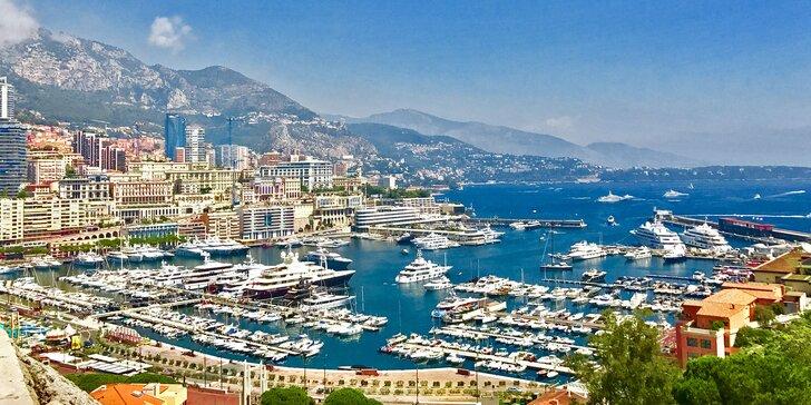 Nice, Cannes, St. Tropéz, Monaco: zájezd s koupáním, dopravou a 2x nocleh