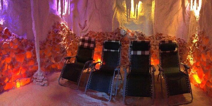 Jarní relax v solné jeskyni: jednorázový vstup nebo permanentka