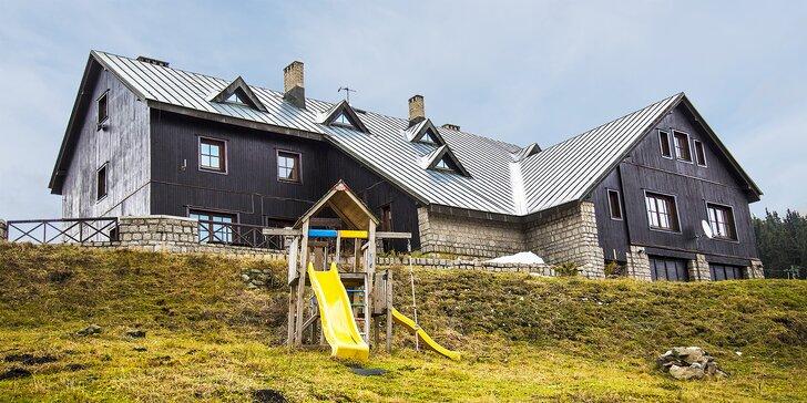 Dovolená na horách: 3–6 dní v Krkonoších s polopenzí, saunou a půjčením kol