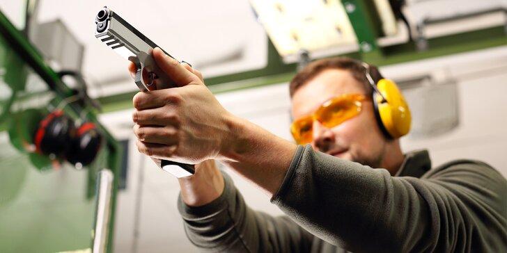 Miřte přesně: 5 nebo 9 zbraní a 21 až 62 nábojů na střelnici v Opavě