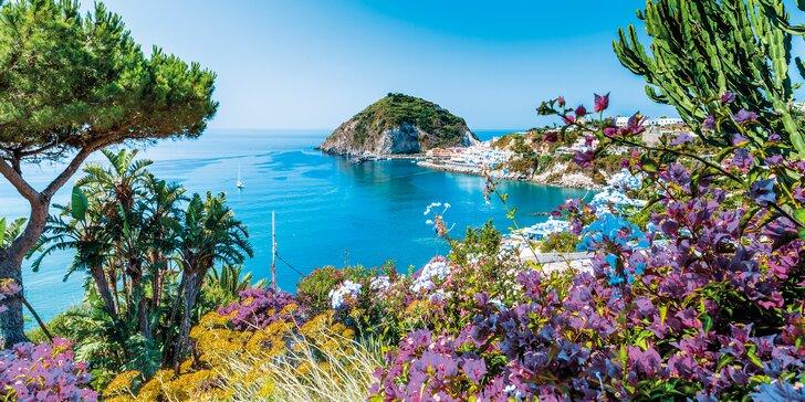 Ischia s výlety: 7 nocí s polopenzí, doprava vč. trajektu, 5 minut od pláže