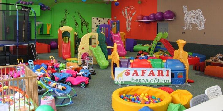 Tohle bude divočina: celodenní vstup do dětské herny SAFARI