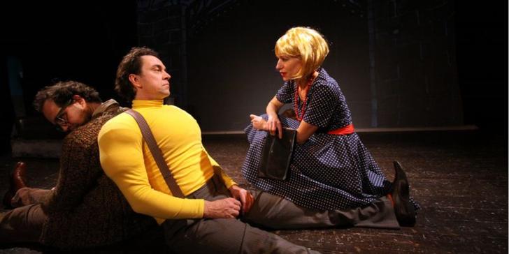 Vstupenka na představení Zabte ošklivé/Boris Vian alias Vernon Sullivan