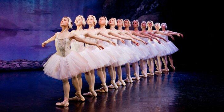 Vstupenky na baletní představení Labutí jezero v divadle Hybernia
