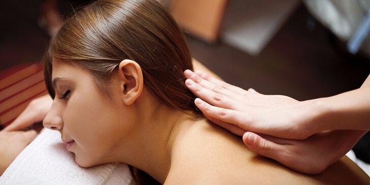Manuální lymfatická masáž celého těla
