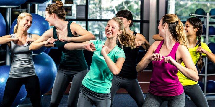 Skupinové cvičení: 1 nebo 5 vstupů, jóga, Latin-fit, pilates i zumba