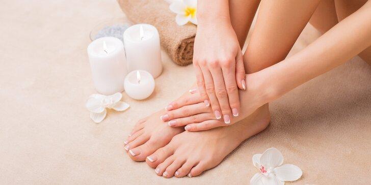 Péče o nehty: Japonská manikúra P-Shine a mokrá pedikúra