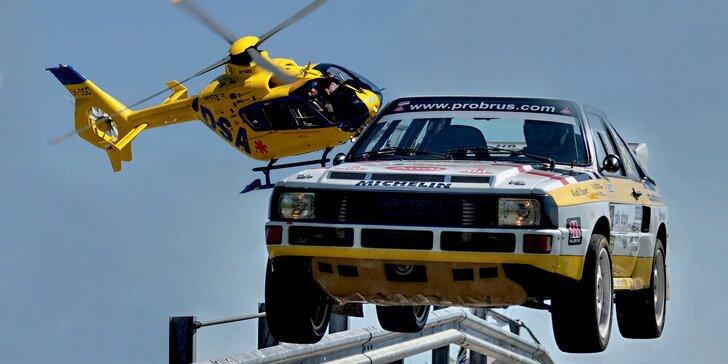 Ráj pro velké i malé kluky: Lupen na adrenalinovou Rally a Helicopter Show