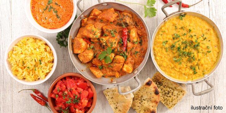 Dárkový voucher na cokoli z menu indické restaurace v hodnotě 700 Kč