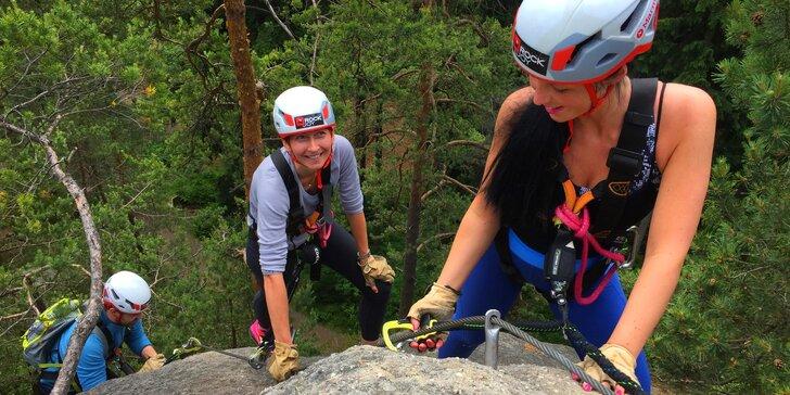"""Horolezecký kurz """"Via Ferrata bezpečně"""" se zapůjčením vybavení"""