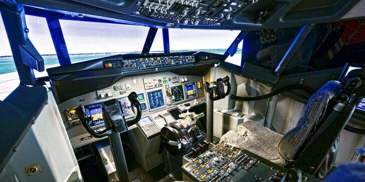 Pilotem dopravního letadla: simulátor nebo odbourání strachu z létání