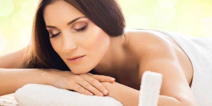 Odhalte tajemství masérny: výběr ze 4 masáží - exotické i klasické procedury