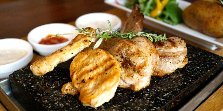 Labužnický zážitek u Mlsnýho Kocoura: Ugrilujte si masíčko přímo na stole