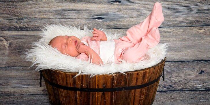 Mějte u čeho vzpomínat: dětské, rodinné, portrétní či těhotenské focení