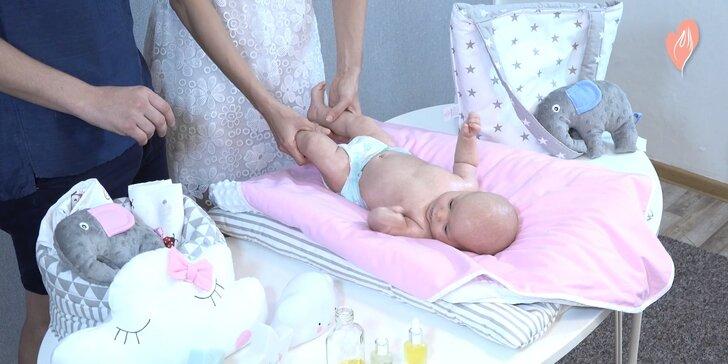Léčivá síla doteku: On-line kurz masáží miminek nebo těhotných