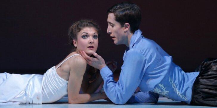 Vstupenka na Mezinárodní den tance s představením Romeo a Julie