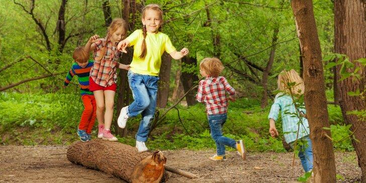 Originální příměstské tábory na Borku: s odvozem i přívozem pro vaše děti