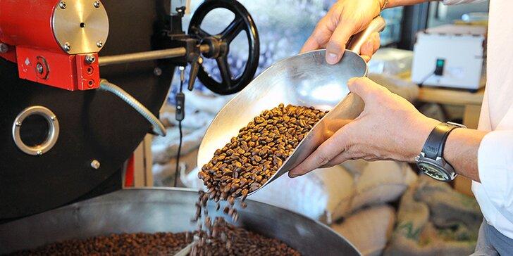 Po stopách kávy: exkurze do pražírny, ochutnávka i balíček arabiky domů