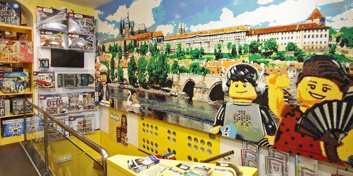 Milion kostiček: Vstupné do největšího Muzea Lega pro dospělé i děti