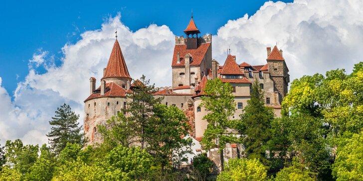 Poznejte Rumunsko: hrad Drakuly i Ceausescův palác, 3 noci v hotelu se snídaní