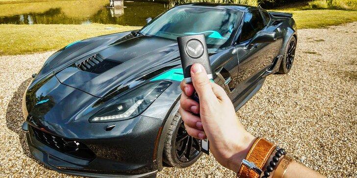 Chevrolet Corvette: 20–60 min. spolujízdy či řízení i vč. pohonných hmot