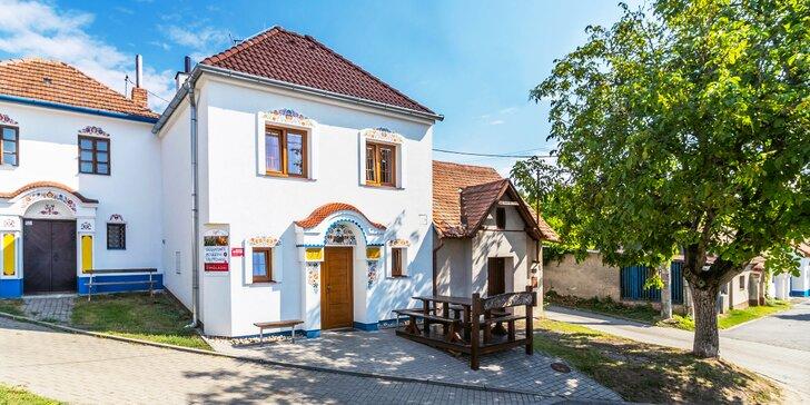2–3 dny na jižní Moravě až pro 6 osob: pronájem sklípku, degustace
