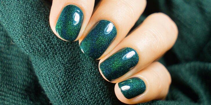 Péče o nehty: manikúra či pedikúra včetně gelové modeláže nehtů
