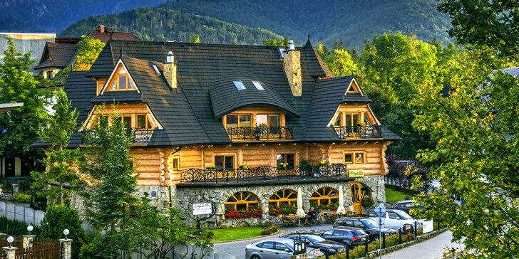 2 až 3 noci v tradičním horalském penzionu se snídaní či polopenzí pro dva
