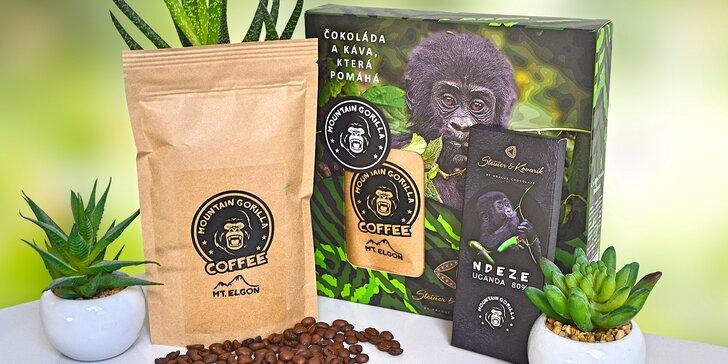 Potěšte kvalitní kávou a čokoládou z Ugandy: dárková krabička Ndeze