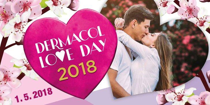 DERMACOL LOVE DAY v Grébovce: plná dárková taška a koncert NO NAME