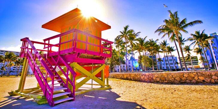 Utečte zimě do tropického ráje: záloha na 9 nocí v Miami Beach vč. letenky