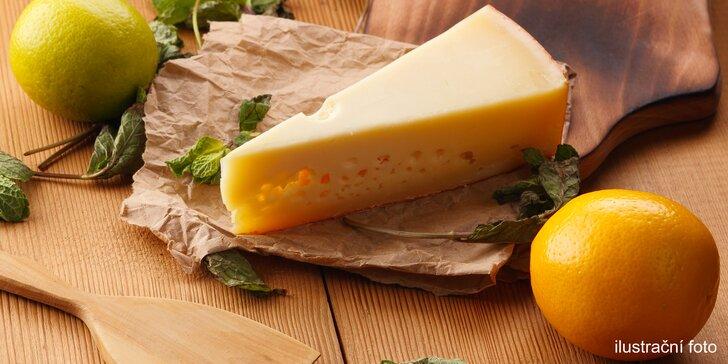 200 g nebo 400 g aromatického a chuťově velmi zajímavého sýru Firstkönig