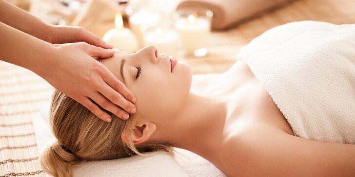 Relax pro celé tělo: masáž hlavy i masáž zad a šíje v My Life studiu