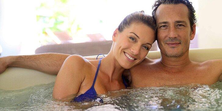 Romantika ve dvou: sauna, koupel nebo relaxační wellness balíček