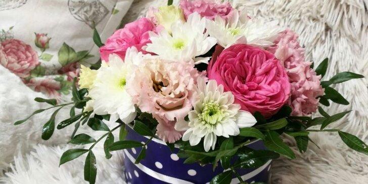 Darujte radost: krásná kytice nejen v dárkovém boxu dle výběru