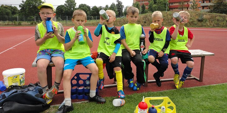 Fotbalový tábor: příměstské sportovní kempy pro děti blízko centra Prahy