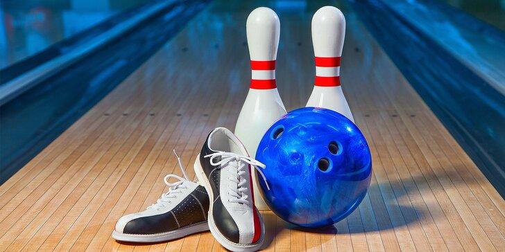 Rozkulte to s celou partou: Hodina bowlingu až pro 8 hráčů