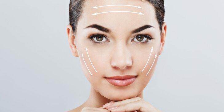 Kosmetické ošetření pro zralou plet´a vyhlazení mimických vrásek