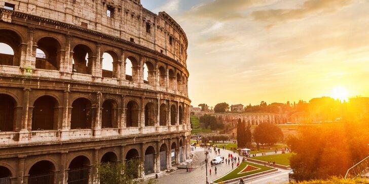 Poznejte Řím: letecký zájezd s průvodcem a 3* nebo 4* ubytováním v centru