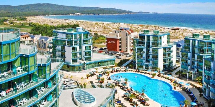 Leťte do Bulharska - all inclusive, 5* hotel a pobyt pro 1 dítě za cenu letenky