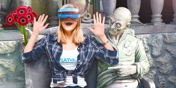 Poezie zombího dne: hodina ve virtuální realitě a hry se zombie tematikou