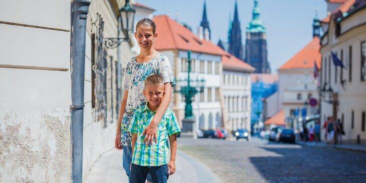 Praha pro děti: speciální rodinné procházky po stopách historie