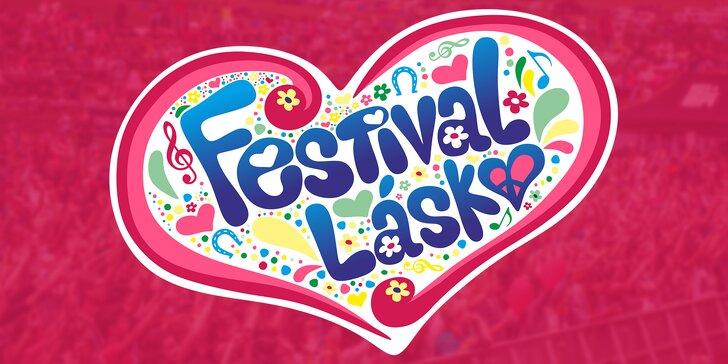 Vstupenka na festival plný lásky pro dva: nabitý program, hudba i koupání