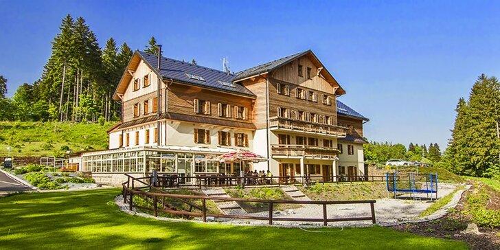 Pobyt ve 4* hotelu Eagle: božský klid, luxusní ubytování, sauna a polopenze