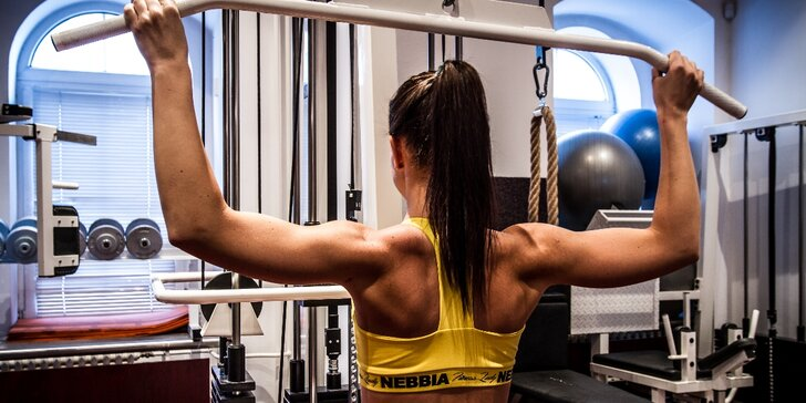 Dámské fitness: permanentka na vstupy i skupinové lekce