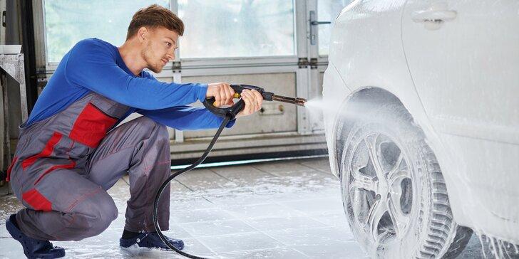 Bezkontaktní mytí osobních automobilů a další procedury ve 3 programech