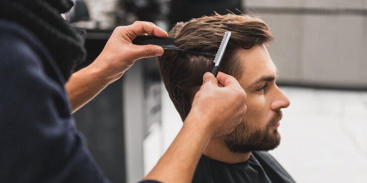 Ocení každý fešák: profesionální pánský střih i se stylingem