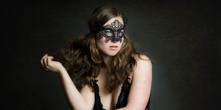 Akty, glamour nebo erotické focení s profi fotografkou a možností líčení
