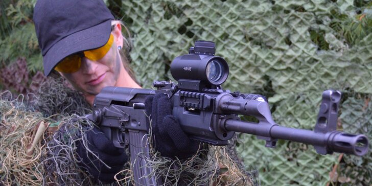 Kadet i expert: nadupané střelecké balíčky pro jednoho či pro dva